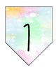 Watercolor Place Value Banner