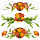 Watercolor Poppies Clipart