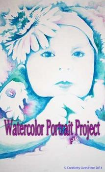 Watercolor Portrait Painting Lesson - Middle & High School
