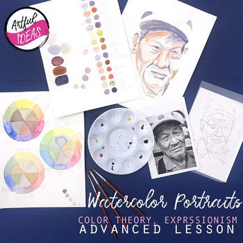 Watercolor Portraits- Color Investigation