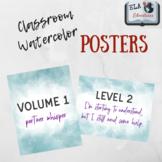 Watercolor Poster Pack