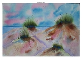 Watercolor Project Pack - Beach Sand Dunes