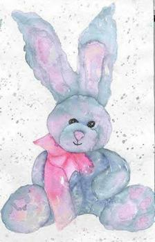 Watercolor Project Pack - Bunny