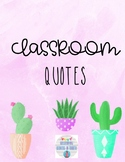 Watercolor Quotes