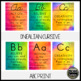 Watercolor Cursive Alphabet Posters (Growth Mindset Quotes)