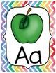 Watercolor Rainbow Alphabet Posters