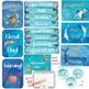 Watercolor Sea Life Classroom Decor MEGA Bundle-Editable!