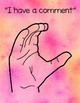 Watercolor Sign Language Posters