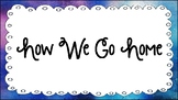 Watercolor Space How We Go Home Chart