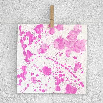 Watercolor Splatter Digital Paper