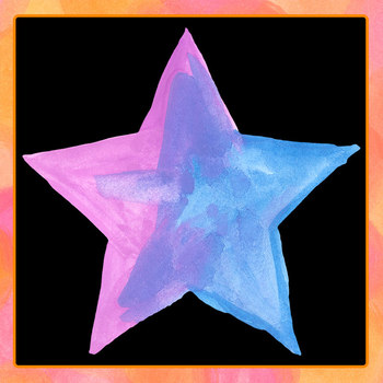 Watercolor Stars Clip Art Set for Commercial Use