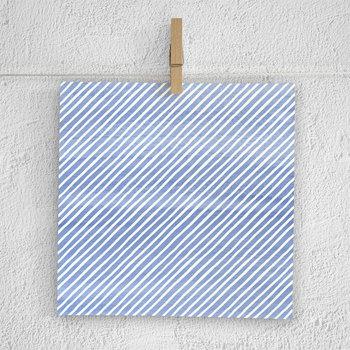 Watercolor Stripe Digital Paper