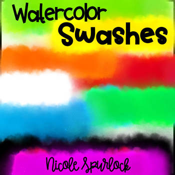 Watercolor Swashes