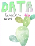 Watercolor Teacher Binder Covers
