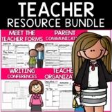Teacher Binder and Resources Bundle