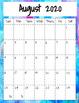 Watercolor Teacher Notebook: Organizer/Planner 2018 - 2019 FREE UPDATES