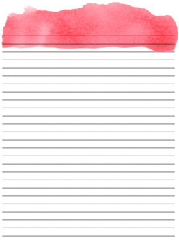 Watercolor Teacher Planner - Ready to Print