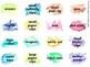 Watercolor Teacher Toolbox Labels - Editable