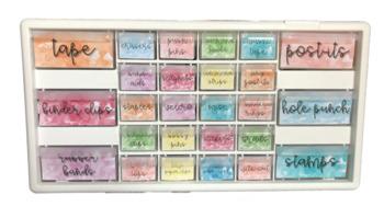 Watercolor Teacher Toolbox Labels EDITABLE!