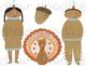 Watercolor Thanksgiving Digital Clip Art Set