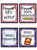 Watercolor-Themed Brag Tags