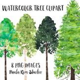 Watercolor Tree Clipart