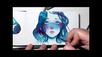 "Watercolor ""Tricks"" Experiment"