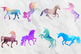 Watercolor Unicorn Graphics, Magical Unicorn Clipart, Unicorns Clip Art
