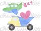 Watercolor Valentine's Day Vehicles & Trucks Digital Clip Art Set