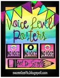 Watercolor Voice Level Posters (Color Splash Series)
