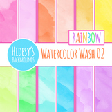 Watercolor Wash 2 Digital Paper / Backgrounds / Textures C
