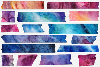 Watercolor Washi Tape