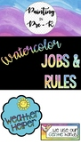 Watercolor: Jobs and Rules