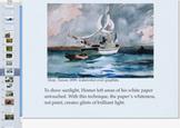 Watercolor Winslow Homer Presentation; Art Critique