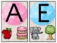 Watercolor & Wood Classroom Decor Alphabet, Vowels, Blends, and Digraph posters