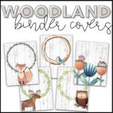 Watercolor Woodland Binder Cover Freebie