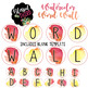 Watercolor Word Wall Labels