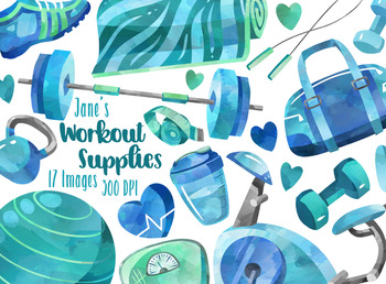 Watercolor Workout Supplies