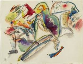 Watercolor and Kandinsky Lesson Plan