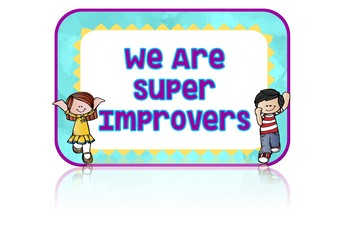 Watercolors Super Improver Wall Banner