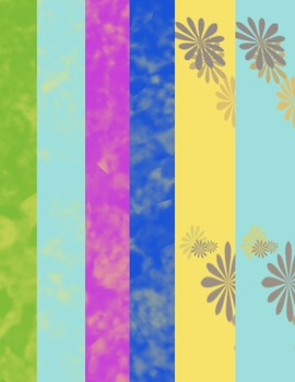 Watercolors and Daisies