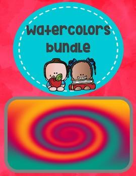 Watercolors bundle