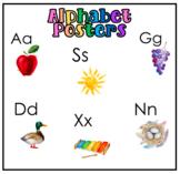 Watercolour Alphabet Posters