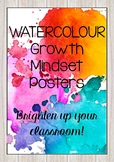Watercolour Growth Mindset Posters
