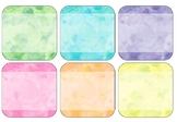 Watercolour Labels EDITABLE Blank Square/Rectangle