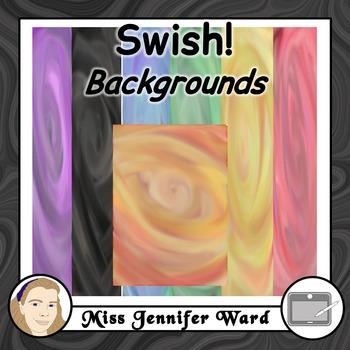 Watercolour Swish Backgrounds