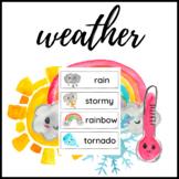 Watercolour Weather Chart