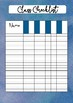 Watercolour class checklists - set of 8 - printable