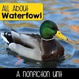Waterfowl- A Nonfiction Unit