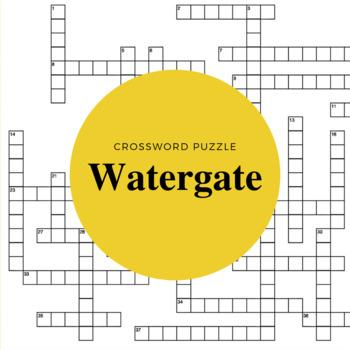 Watergate Crossword Puzzle
